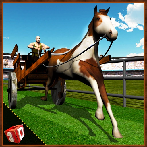 Horse Cart Racing Simulator – Race buggy on real challenging racer track