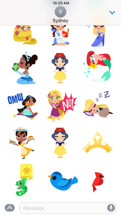 Disney Stickers: Princess screenshot three