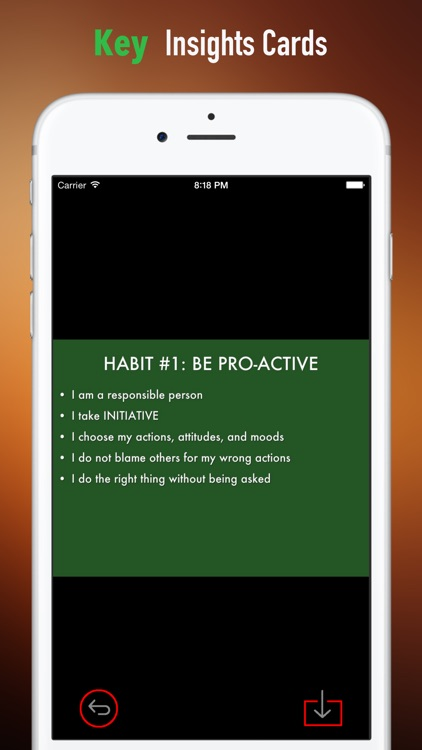 Guide for 7 Habits of Highly Effective People screenshot-3