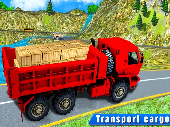 Truck Drive Cargo 3D на iPad