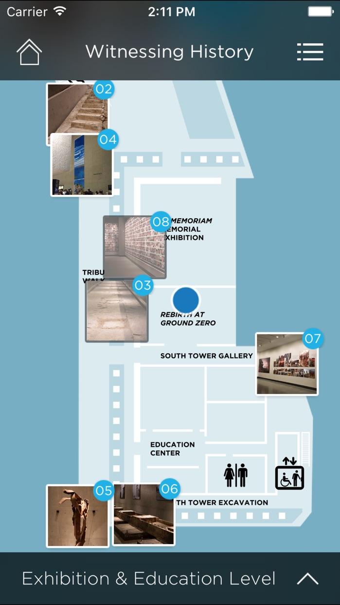 9/11 Museum Audio Guide Screenshot