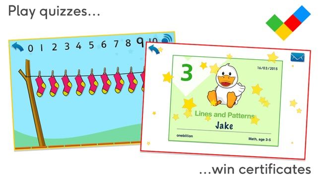 Math, age 3-5 on the App Store