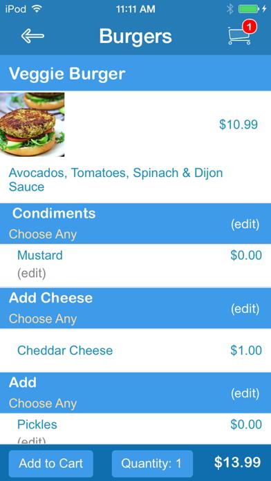 Burger Baby screenshot three