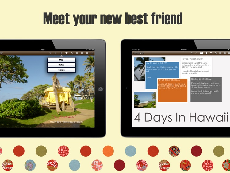 Travel iBlog HD screenshot-4