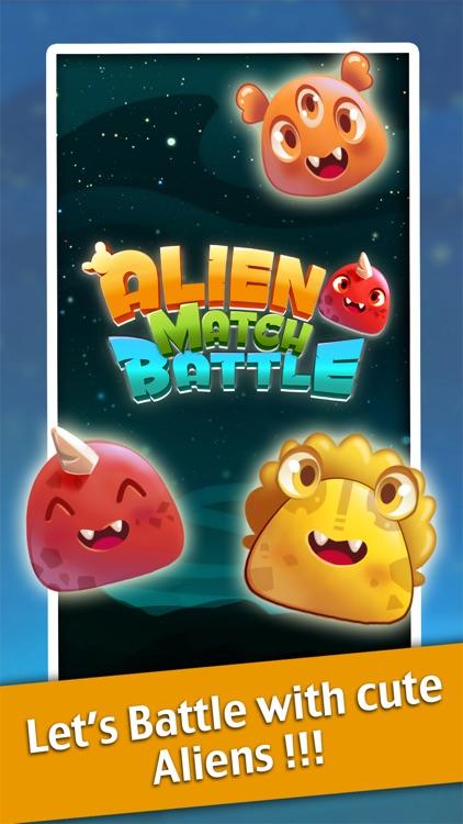 Alien Match 3 Battle : Cute monster ascendance puzzle free games for baby