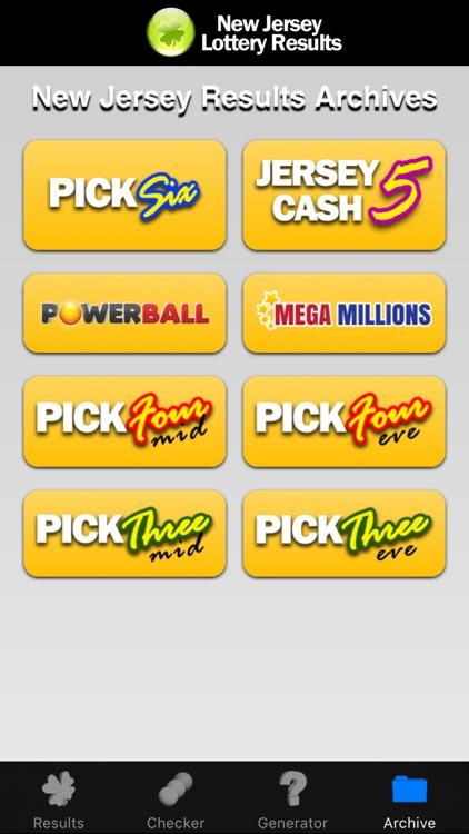 NJ Lottery screenshot-4
