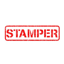 stamper ~ rubber stamp rejected sticker pack