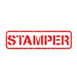 stamper ~ rubber stamp rejected sticker pack