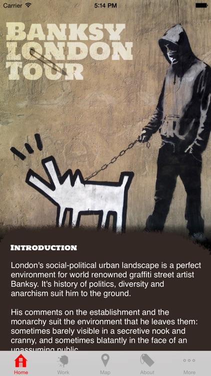 Banksy London Tour