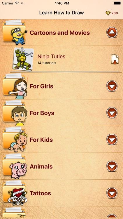 Learn How To Draw Teen Ninja Mutants