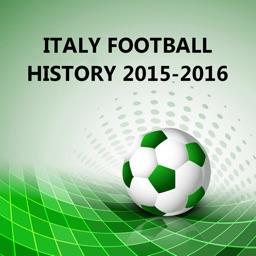 Italy Football History 2015-2016