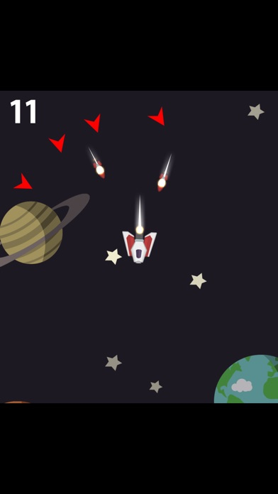 Galaxy Chasers for Watch screenshot 2