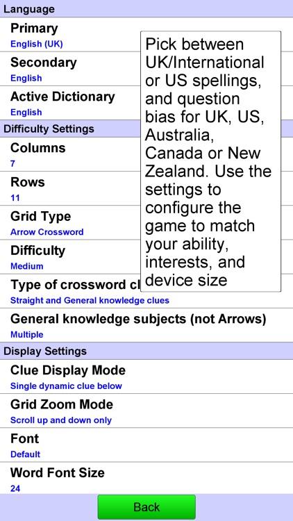 Arrow Crossword screenshot-3