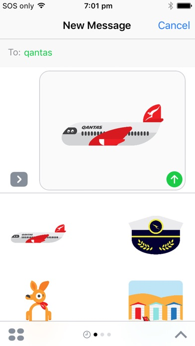 Qantas Stickers-3