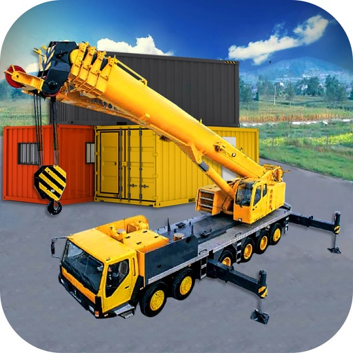 Crane Simulator 2016 : New Free 3D Game icon