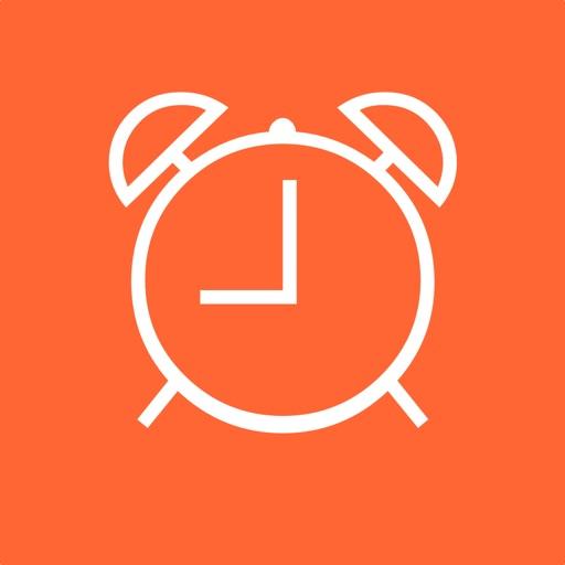 Clock - Modern deskclock with nightstand mode