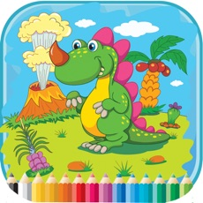 Activities of Dinosaur Coloring Book - For Kids