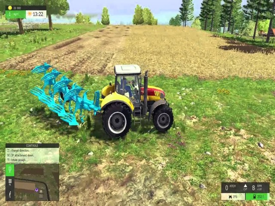 Farmer Simulator 17 : New Harvest на iPad