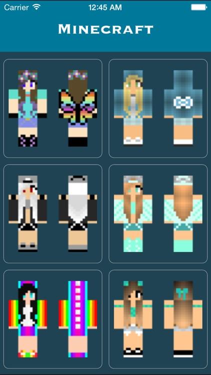 Girl Skins for PE & PC - Free Girl Skins for MCPE