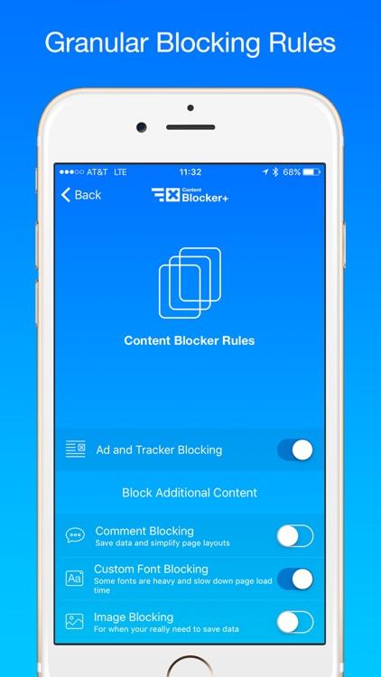 Content Blocker+ screenshot-4
