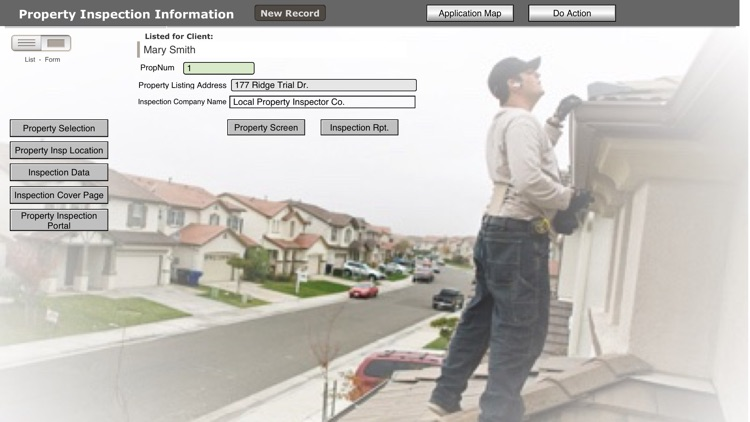 Realty CRM Inspection DB screenshot-4