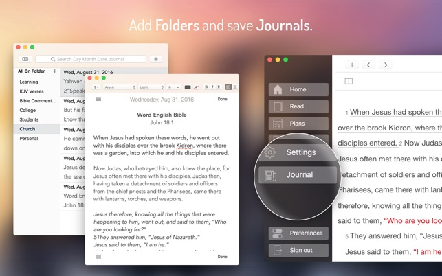 Bible for YouVersion on the MacAppStore