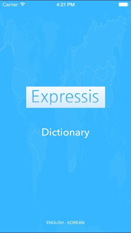 Expressis Dictionary (ENG-KOR)