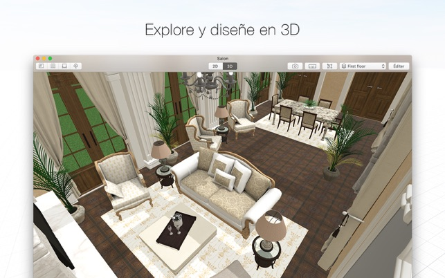 Planner 5D - Déco d\'intérieur dans le Mac App Store