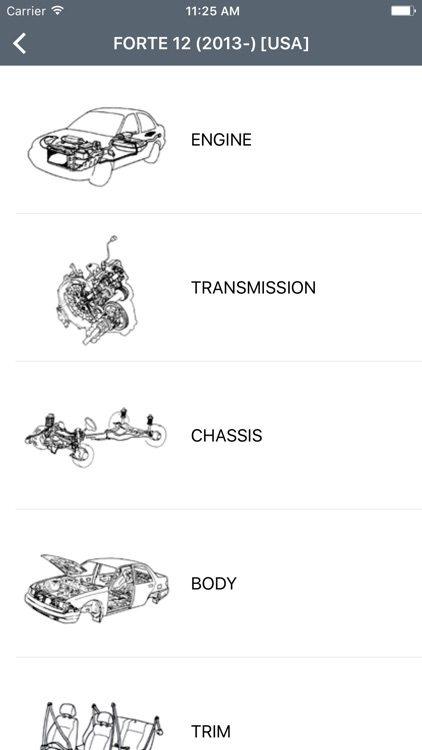 Kia Car Parts - ETK Parts Diagrams