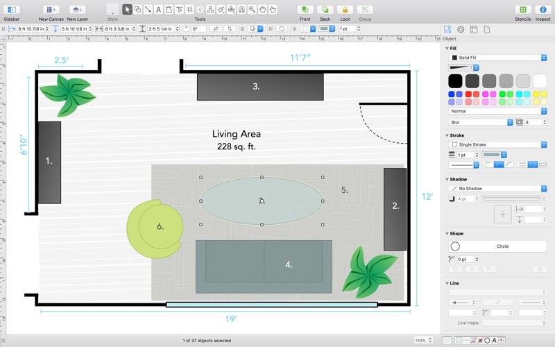 omnigraffle 7 app image - Omnigraffle App