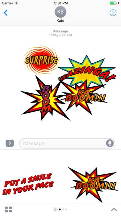 Comic Messages