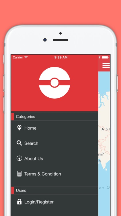 Pokemap Go - Searching app