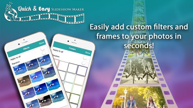Quick & Easy Slideshow Maker screenshot-4