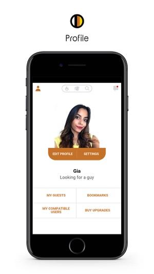 Interracial dating app voor de iPhone