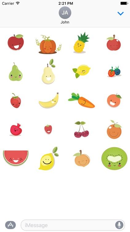 Happy Fruit  - Fx Sticker