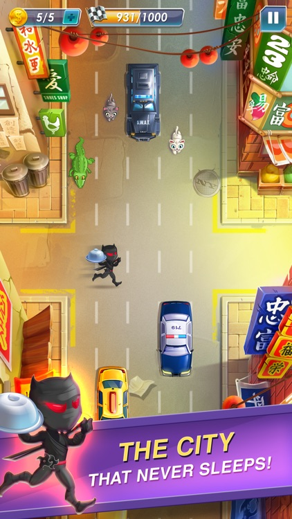 Raccoon Pizza Rush screenshot-2