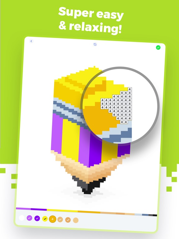 Super Pixel - Color by Number screenshot 7