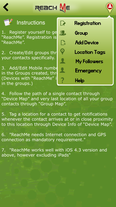 Reach-Me screenshot two