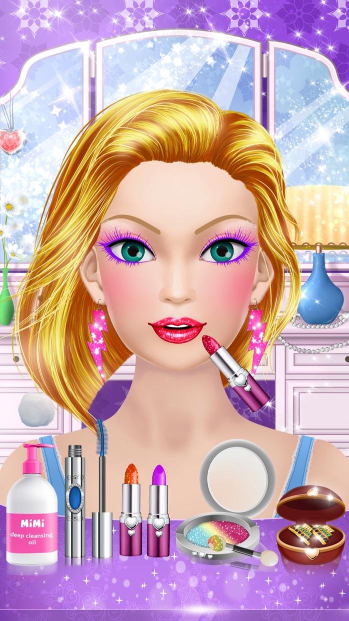 Superhero Girl Salon: Kids Makeup & Dress Up Games Screenshot