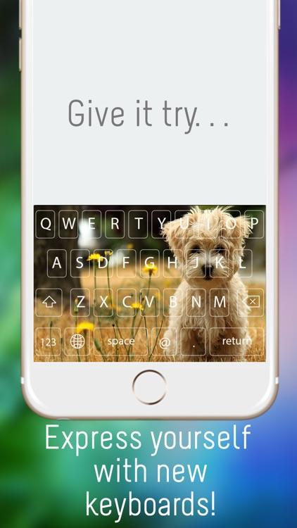 iKey Color Keyboard Free - Custom Keyboard Designs Themes screenshot-3