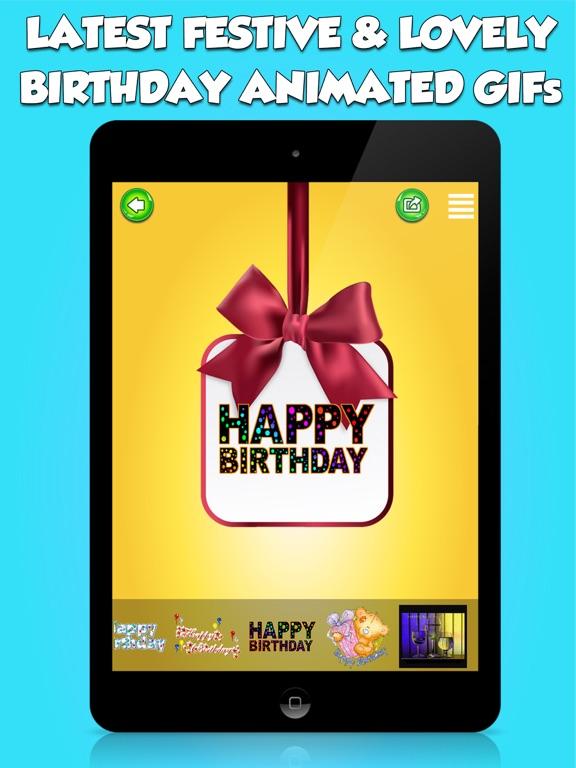 Screenshot 2 For Happy Birthday Animated Emojis