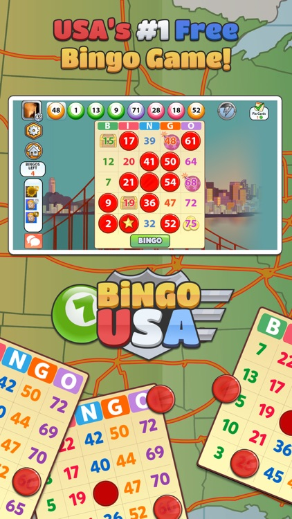 Bingo USA - FREE Bingo and Slots Game