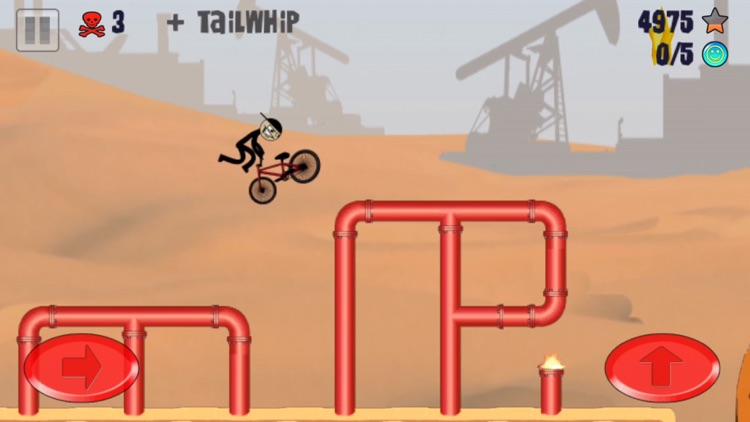 Stickman BMX Free screenshot-4