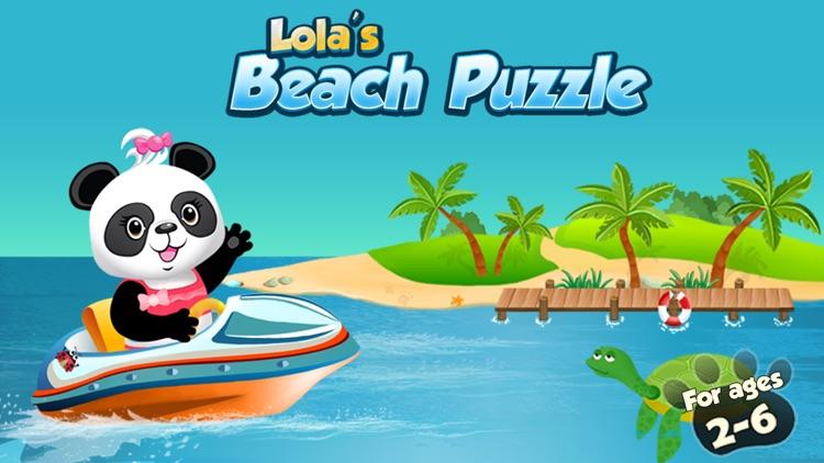 Lola's Beach Puzzle HD