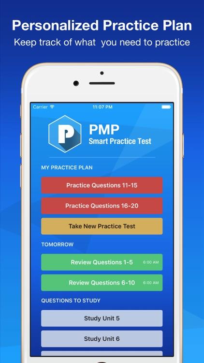 PMP Smart Exam Prep - Practice Test & Study screenshot-3