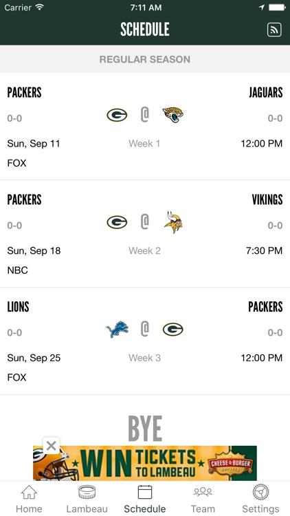 Official Green Bay Packers screenshot-3