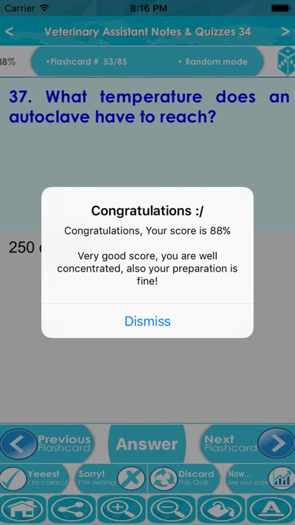 Veterinary Assistant Test Bank App-Terms & Quizzes screenshot-4