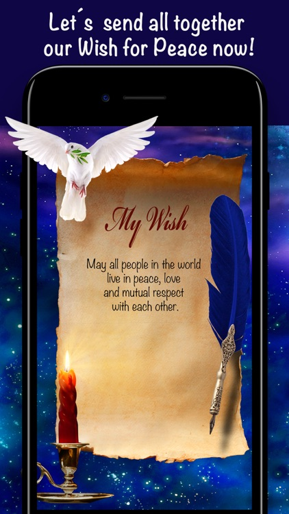 Wishes Peace + Gratitude Diary