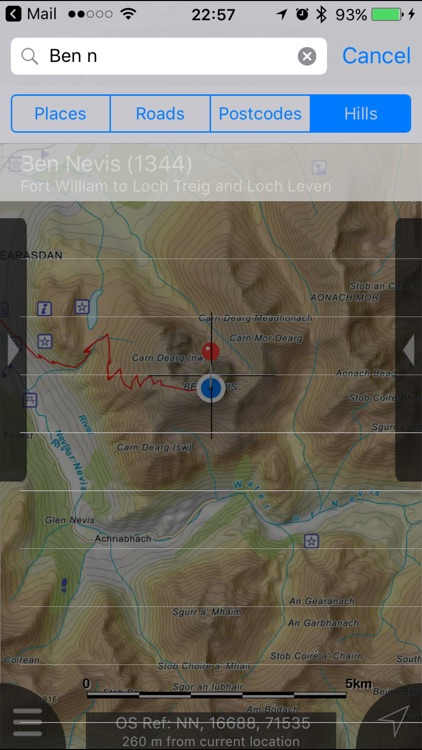 Ben Nevis & Glen Coe Maps Offline screenshot-3
