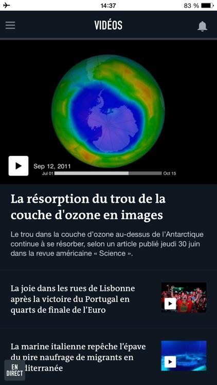 Le Monde, l'info en continu screenshot-3